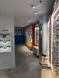 Atol lunettes optique magasin spots vitrines lumineuses