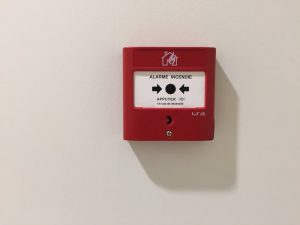 Déclencheur d'alarme incendie