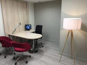 Petit bureau de travail
