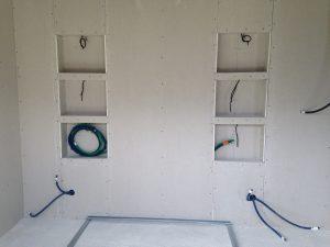 Maison cubes viviers niches chambre double