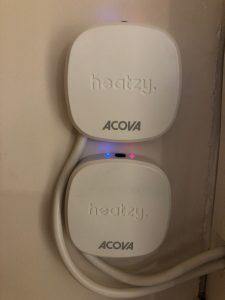 contrôle chauffage distance Acova radiateurs chaudière
