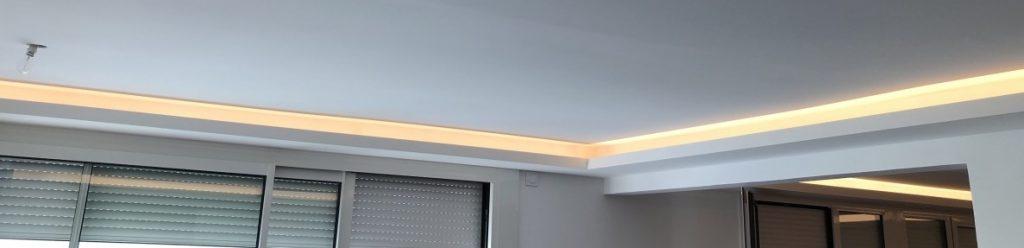 plafond bandeau LED encastre_lumiere_indirecte