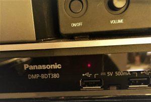 Appareillage Panasonic pour régie