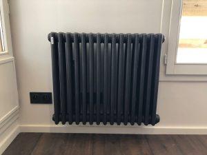 radiateur électrique vieux vintage cosy tendance